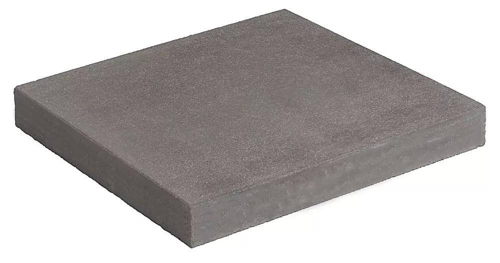 patio sidewalk 12x12 inch gray