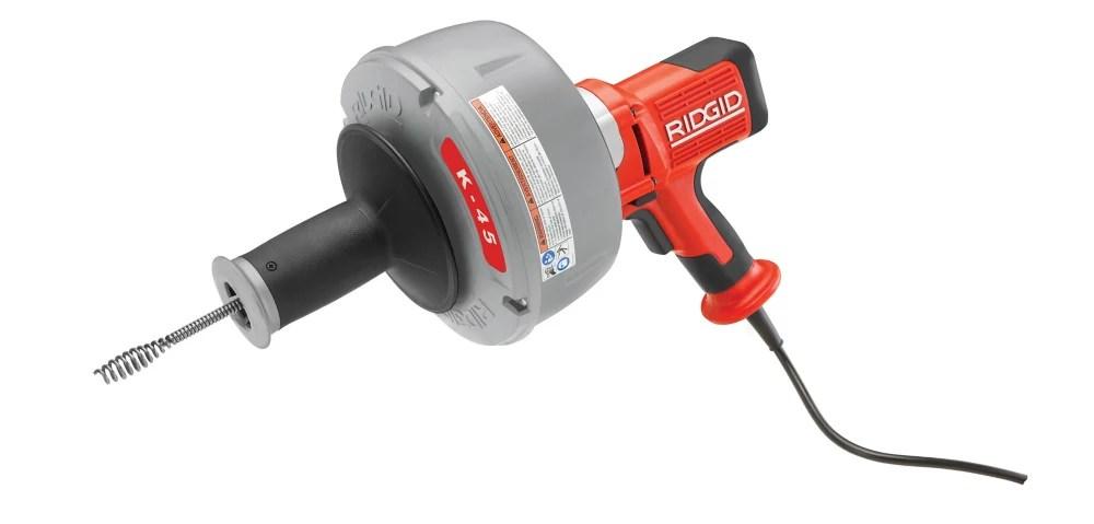 k 45 electric drain auger