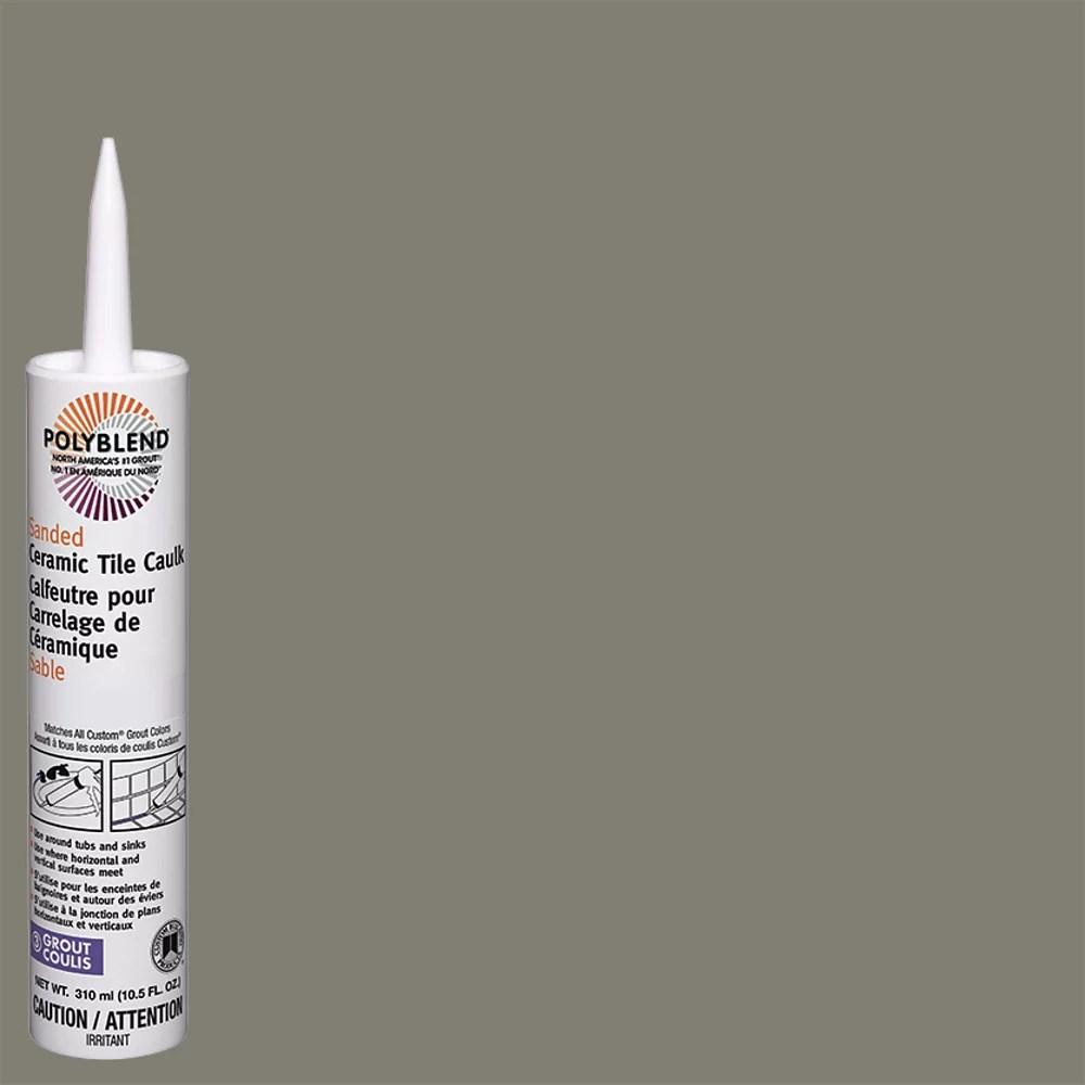 polyblend caulk sanded sanded 09 natural gray 310 ml