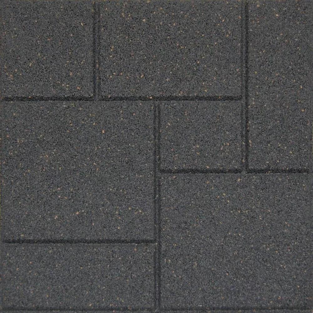 18x18 inch cobblestone grey
