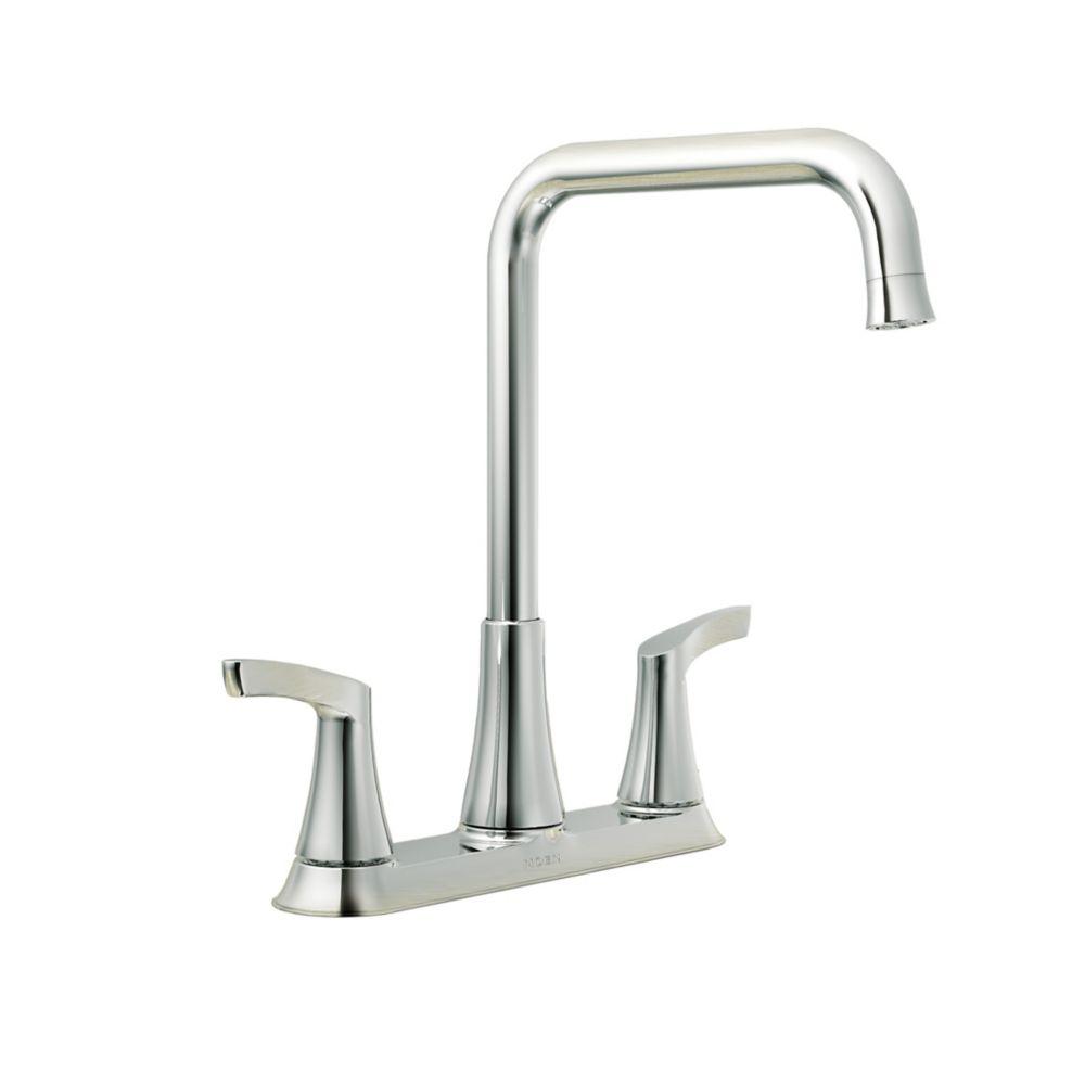 danika 2 handle kitchen faucet in chrome