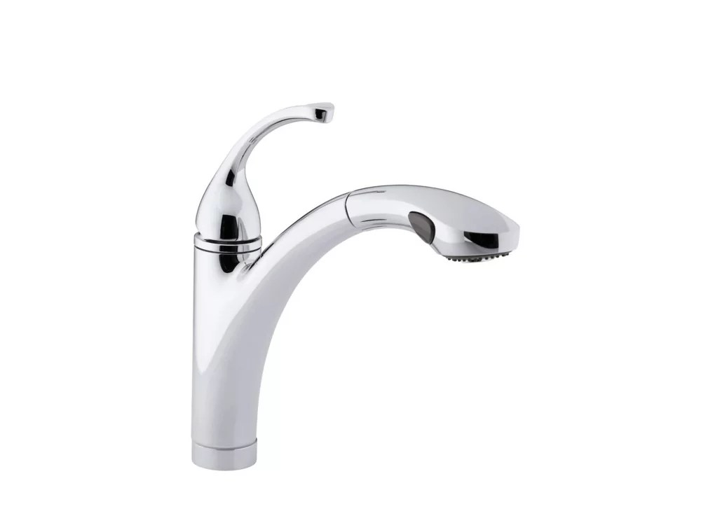 forte single handle bar faucet in polished crome