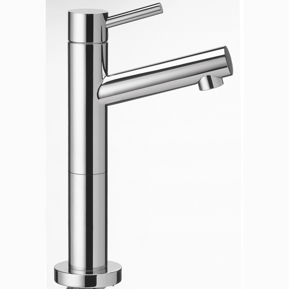 single lever cold water kitchen pantry faucet chrome