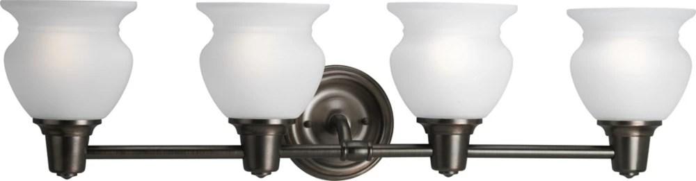 Progress Lighting Rivanna Venetian Bronze Vanity Light ...