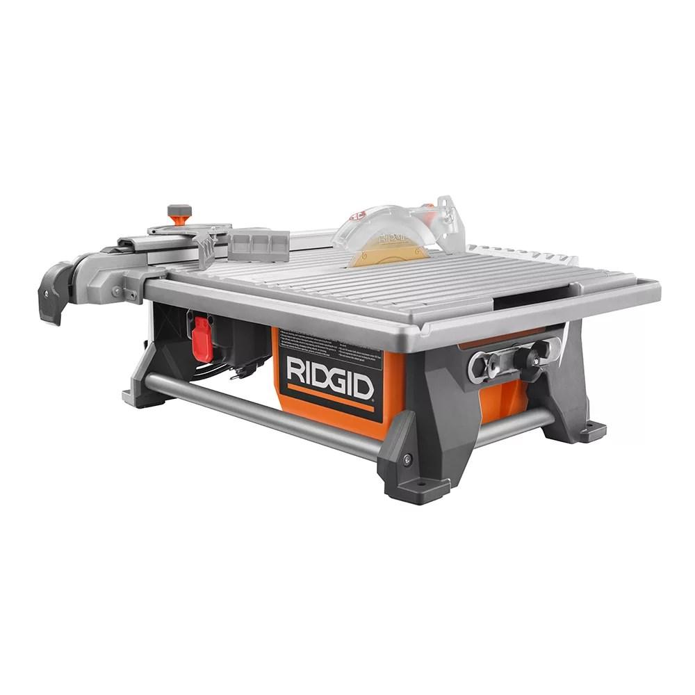 120v 7 inch table top wet tile saw