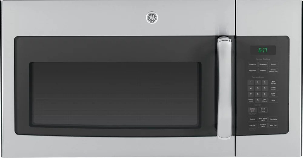 30 inch w 1 6 cu ft over the range microwave in stainless steel with sensor cooking
