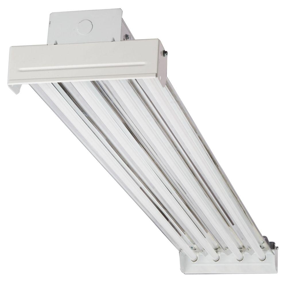 ibc 454 mv 4 light t5 white high output fluorescent high bay