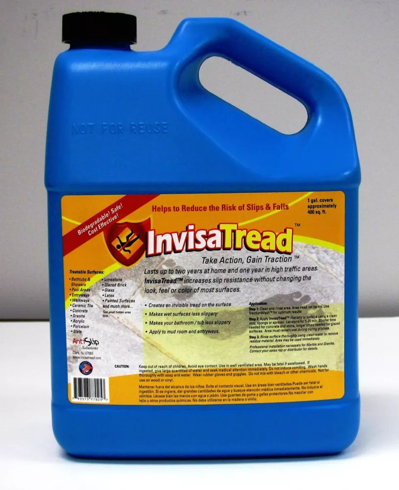 slip resistant treatment for tile and stone 1 gallon fr ca