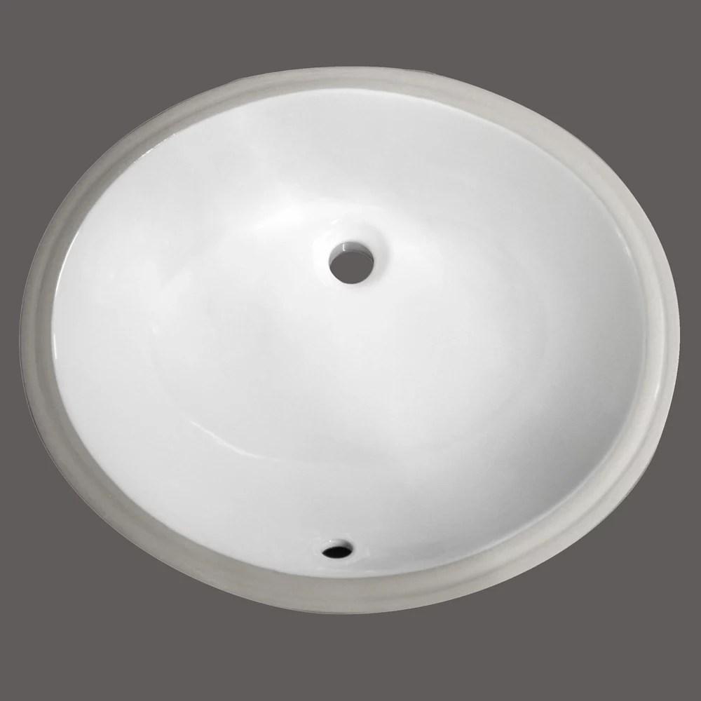 ova2 undermount bathroom sink basin