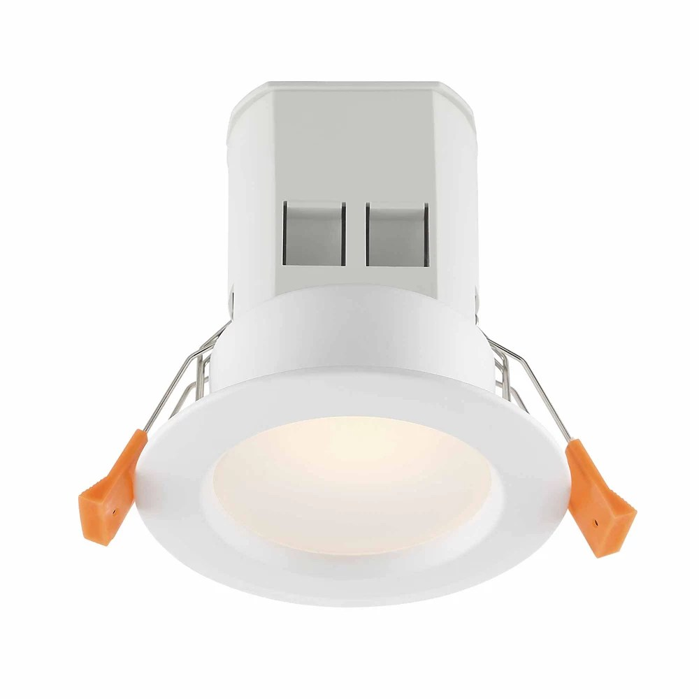 3 inch white integrated led recessed kit 4 pack
