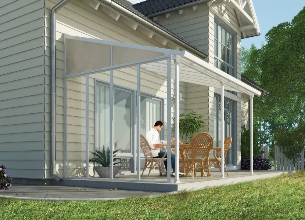 13 ft feria patio cover side wall