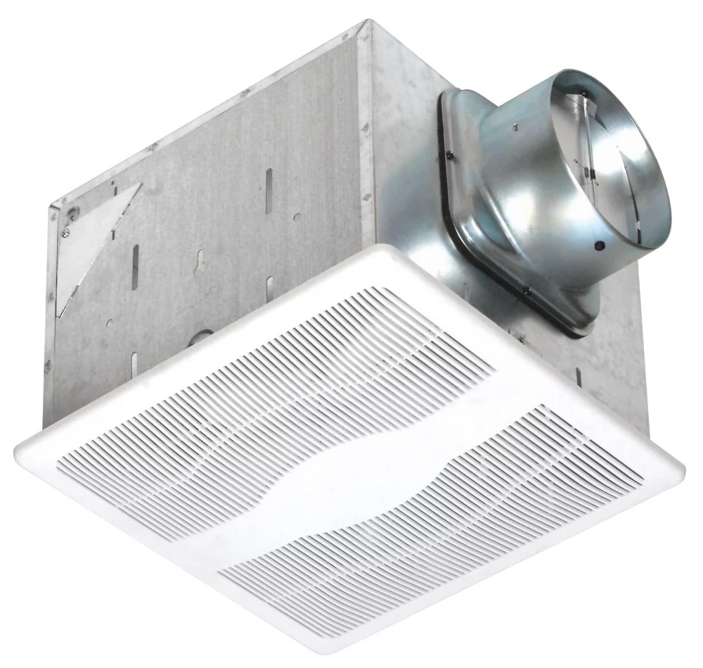 humidity sensing energy star dual speed exhaust fan 80 30 cfm less than0 3 sones leed for homes