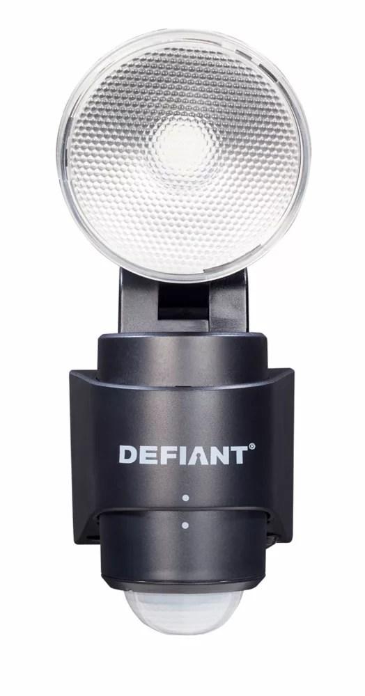 180 degree 1 head black led motion sensing battery power outdoor flood light