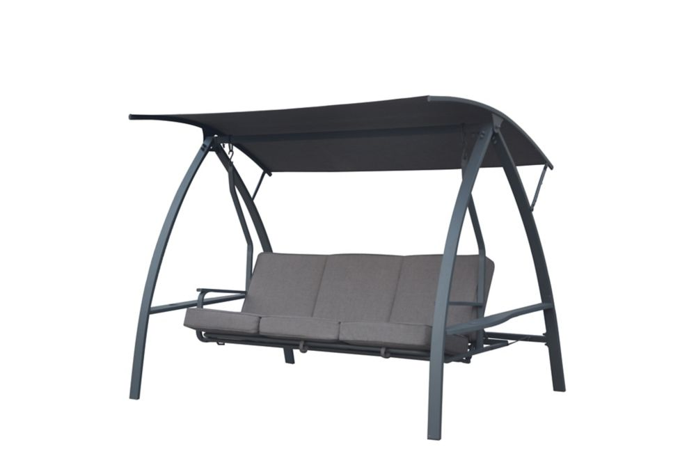 deluxe three person outdoor daybed swing