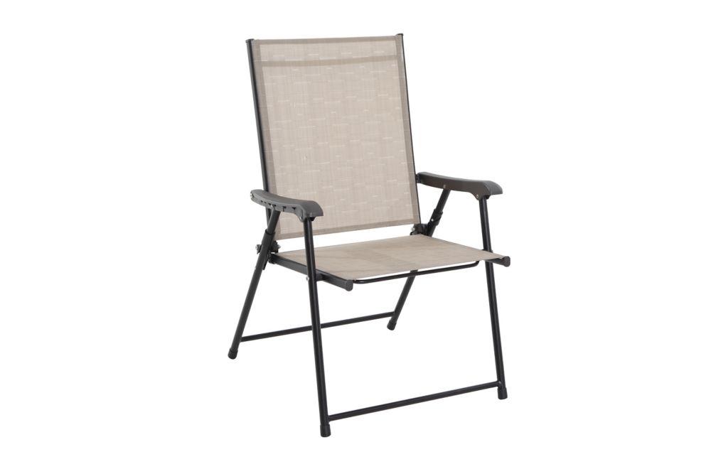 steel patio sling folding chair