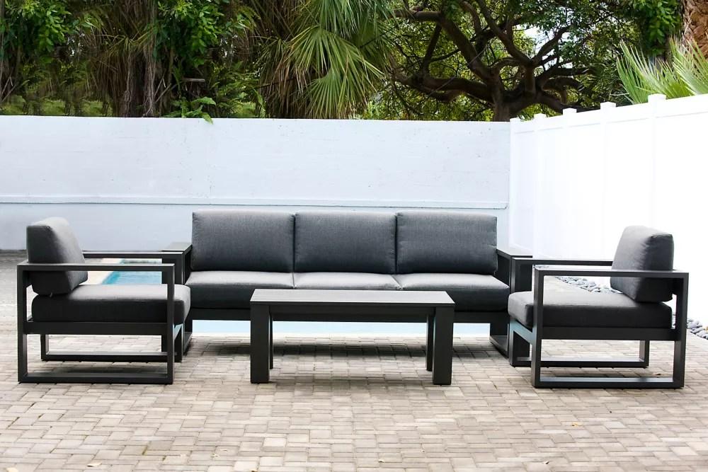 cassara 4 piece patio lounge set