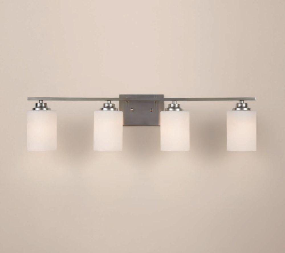 Bathroom 4 Light Vanity Fixture Horitahomes Com