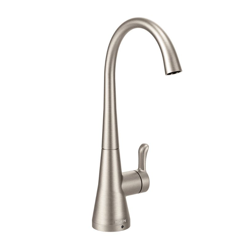 sip transitional lever drinking fountain faucet in spot resist stainless