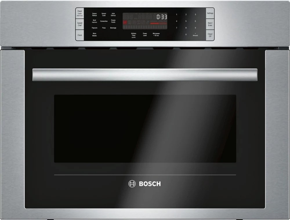bosch 500 series 24 inch built in convection speed microwave oven