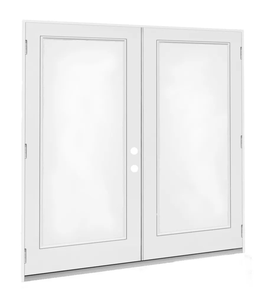 6 ft 1 lite left hand outward swing french door patio door