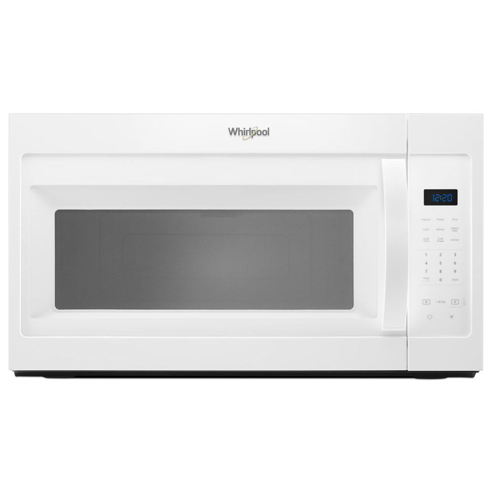 1 7 cu ft over the range microwave in white