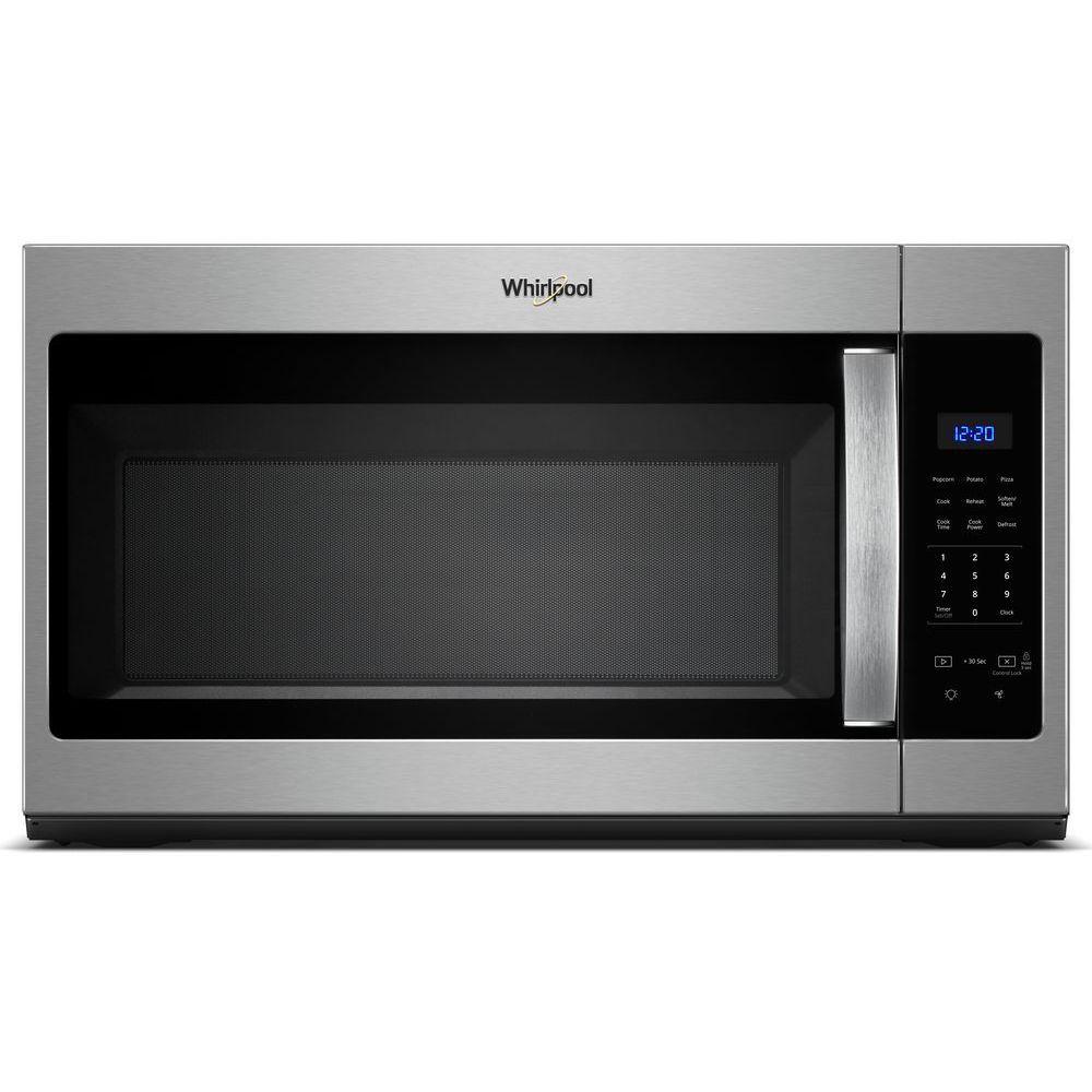 1 7 cu ft over the range microwave in fingerprint resistant stainless steel