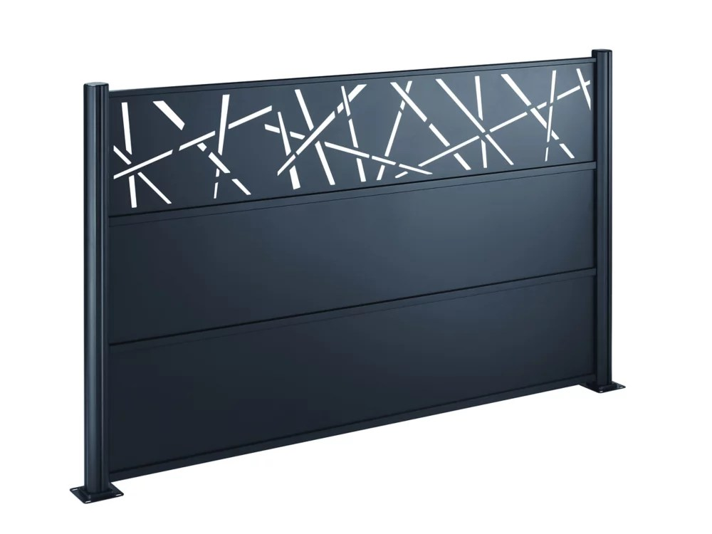 3 piece steel and aluminum screen