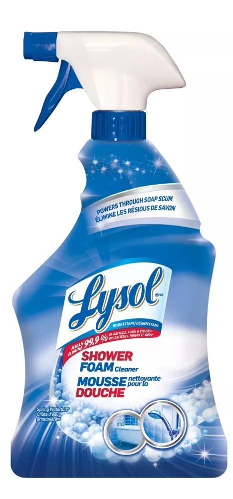Lysol 950 Ml Shower Foam Bathroom Cleaner The Home Depot Canada