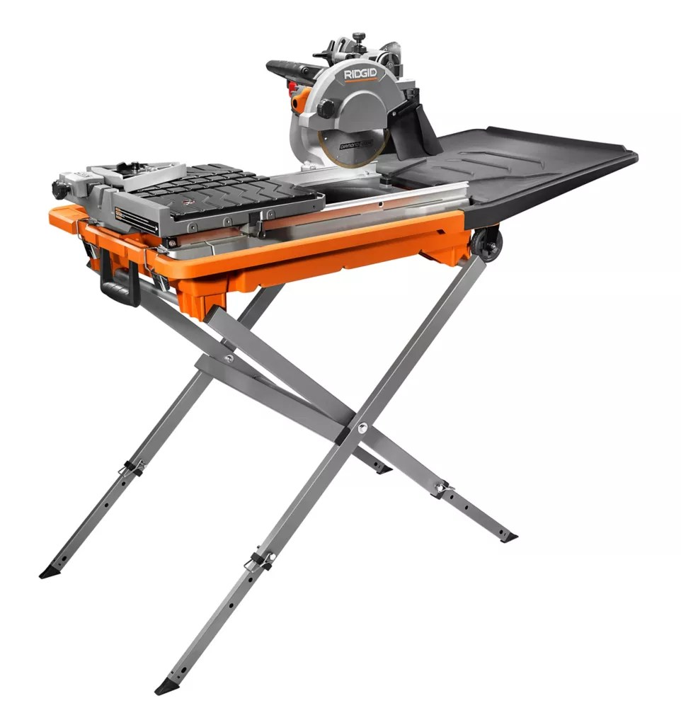 8 inch tile saw with stand