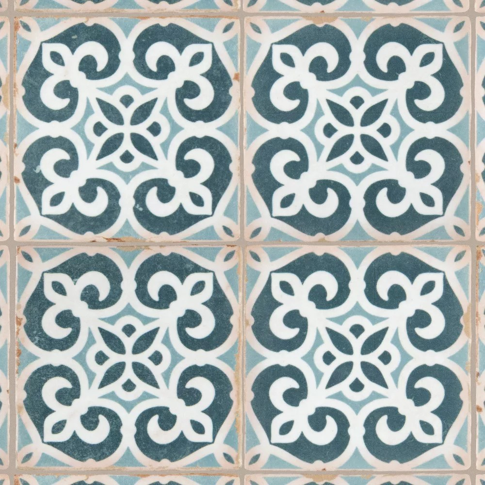 archivo bakula 4 7 8 inch x 4 7 8 inch ceramic floor and wall tile 5 84 sq ft case