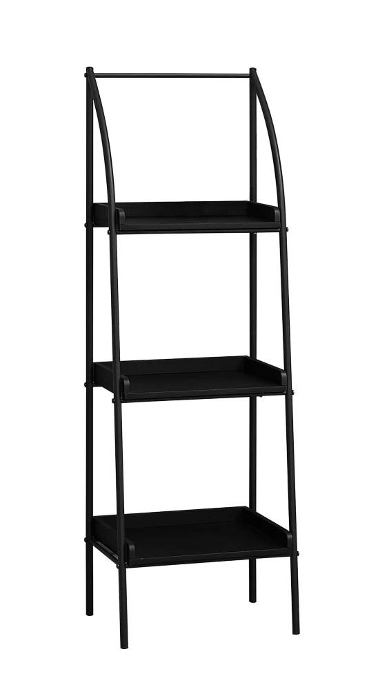 etagere 48 po h noir metal noir