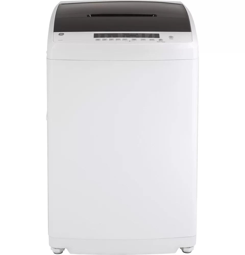 Ge 3 3 Iec Cu Ft Capacity Portable Washer With Stainless Steel Basket In White The Home Depot Canada