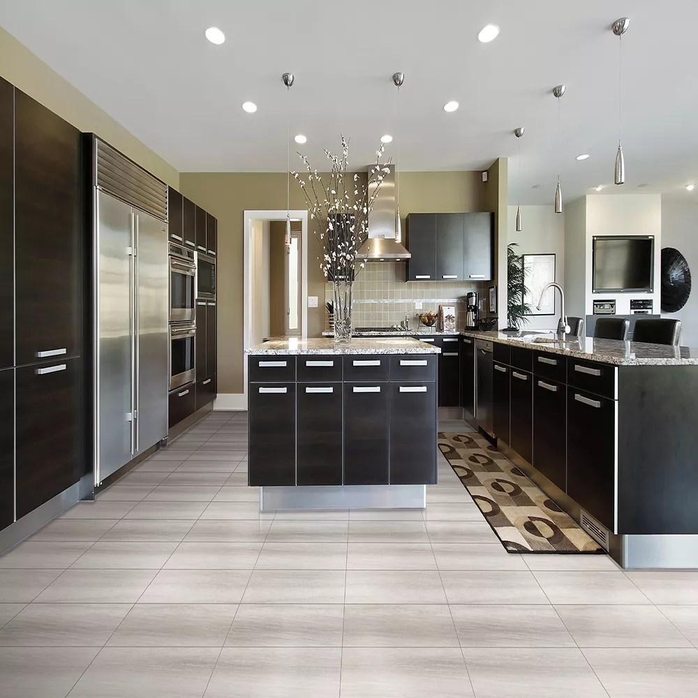 true grout 12 inch x 48 inch grigio drop lock vinyl tile flooring 24 27 sq ft case