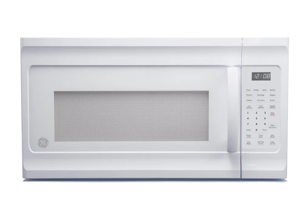 1 6 cu ft over the range microwave oven in white