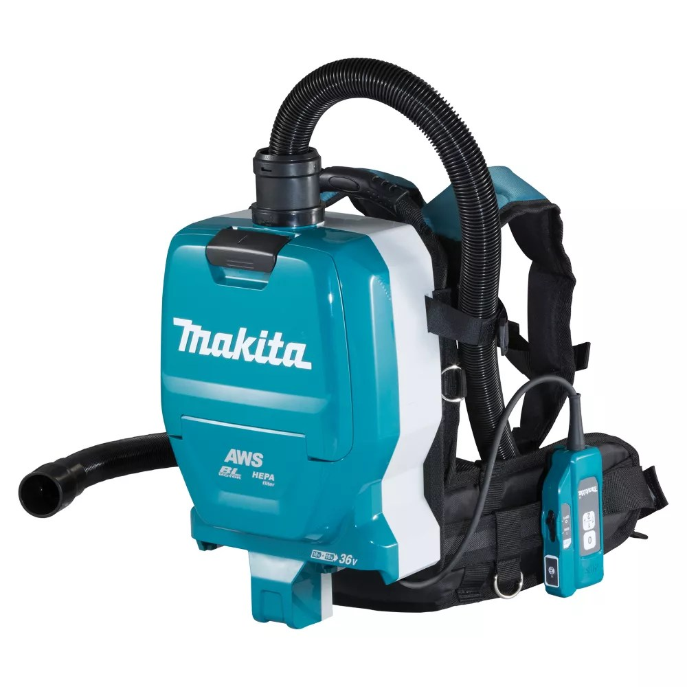 Makita 18vx2 Lxt Cordless Backpack Vacuum Cleaner With Aws 2 0 L The Home Depot Canada