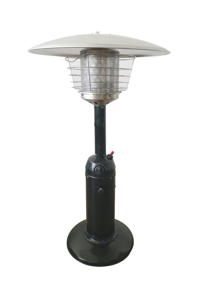36 inch outdoor table top patio heater in black finish
