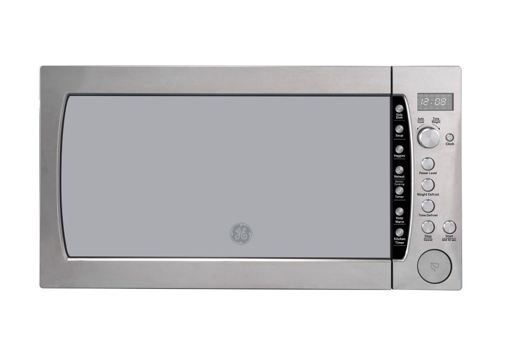 25 inch 2 2 cu ft countertop microwave oven in stainless steel