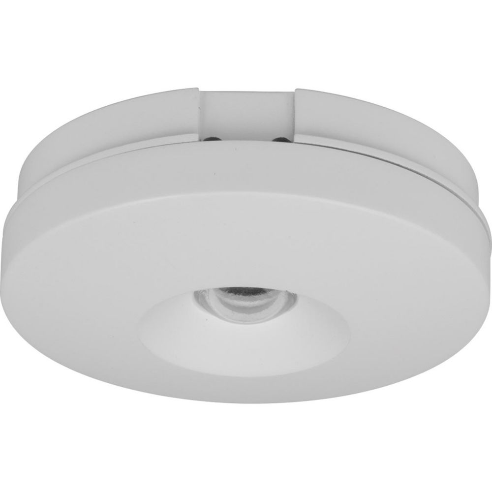 hide a lite v collection led puck white finish