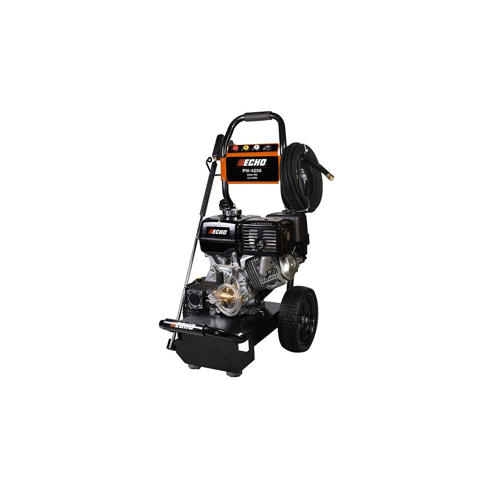 Echo 4200psi 4 Cycle Stroke Gas Pressure Washer The Home Depot Canada