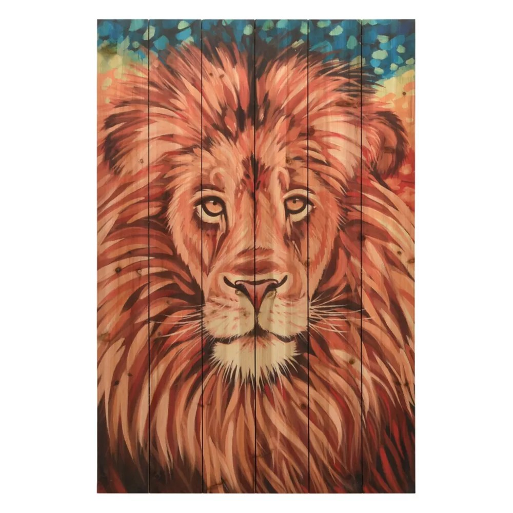 Empire Art Direct Wild Africa 2 Arte De Legno Digital Print On Solid Wood Wall Art The Home Depot Canada