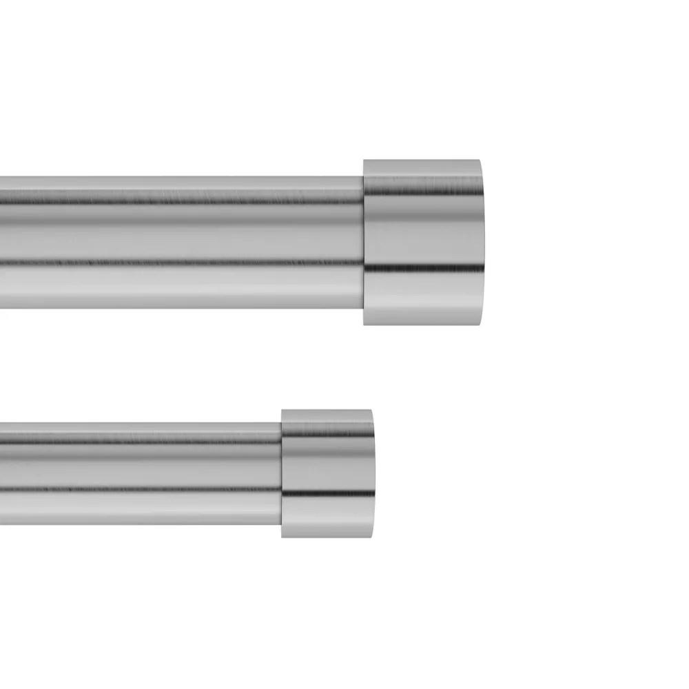 umbra cappa 1 dbl rod 120 180 nickel steel