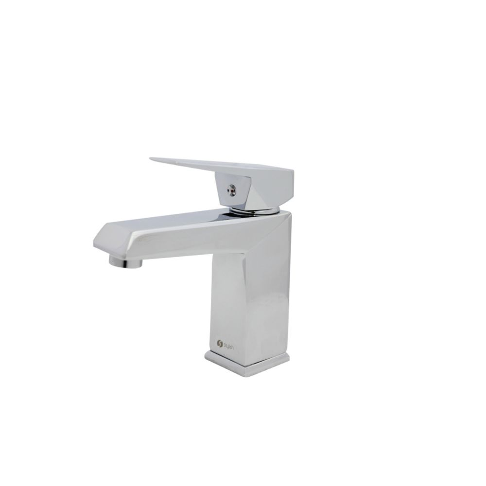 single hole single handle bathroom faucet polished chrome