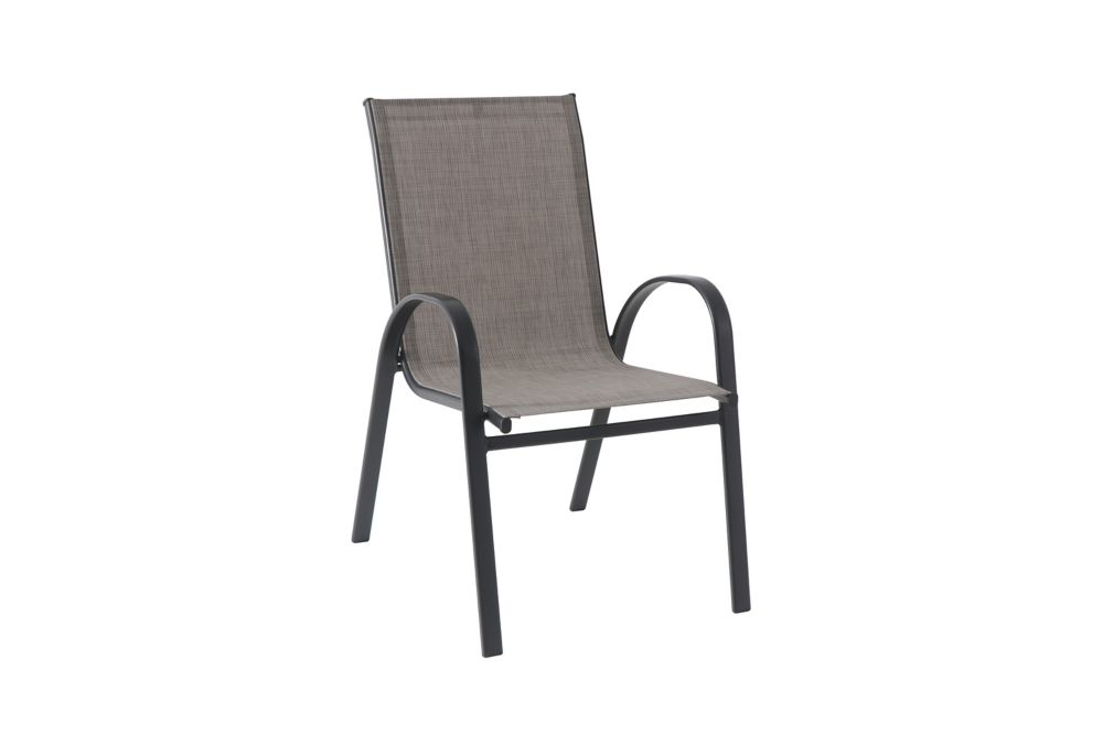 mix match riverbed sling stacking patio dining chair