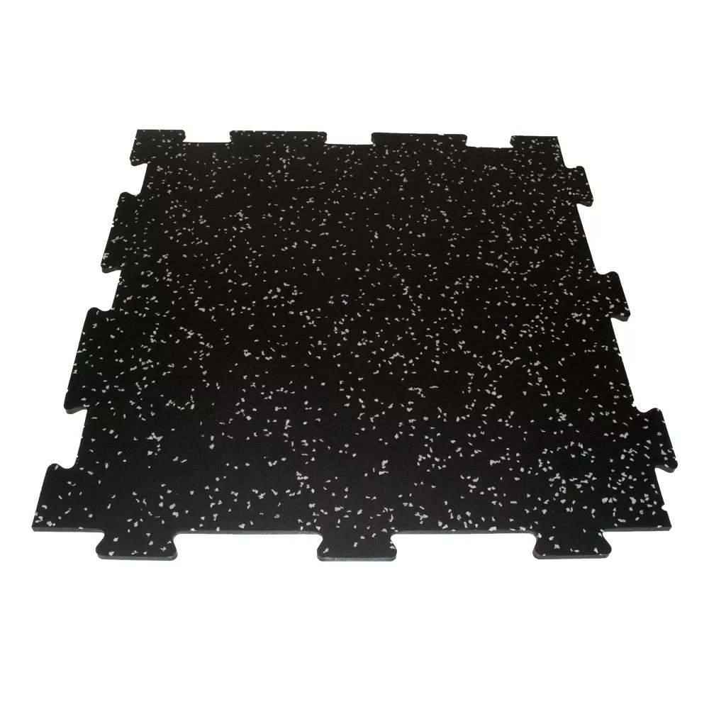 2 ft x 2 ft recycled rubber tiles four pack