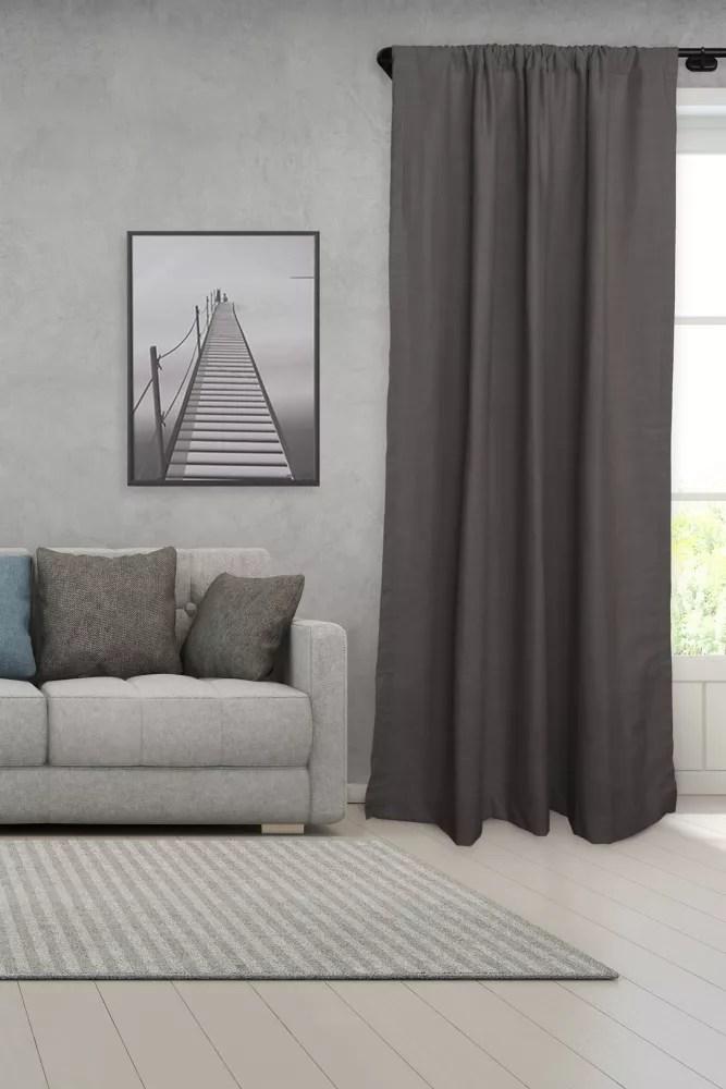 3 4 adjustable 28 48 single curtain rod set with unique wrap around finial design lumi