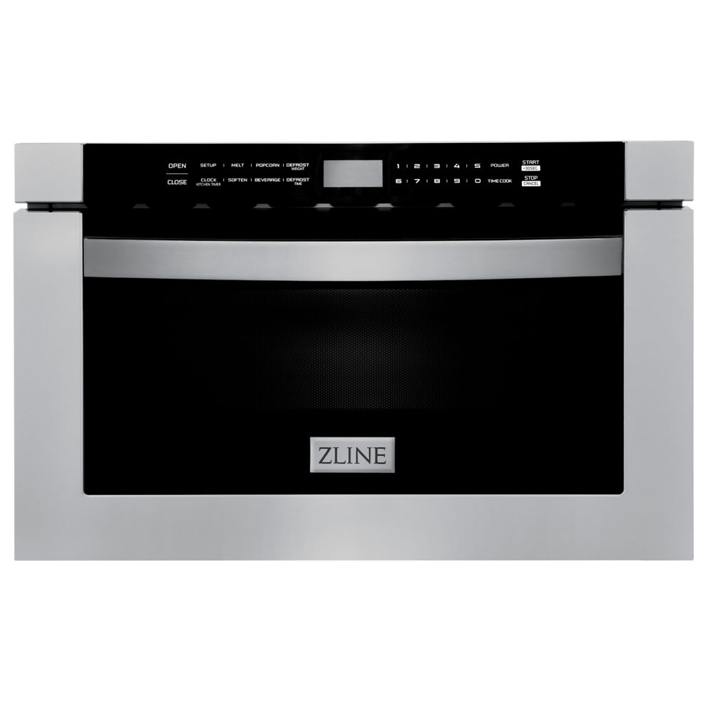 24 1 2 cu ft microwave drawer in stainless steel