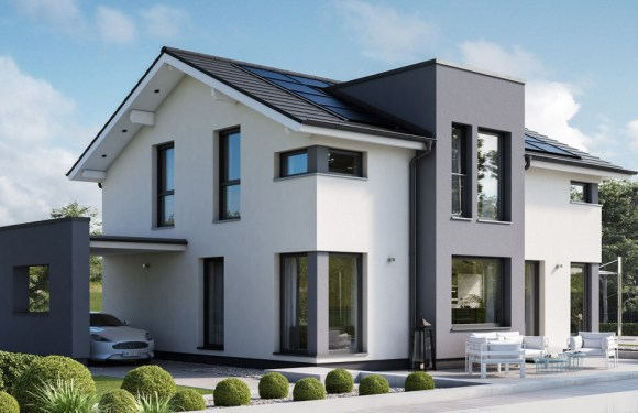 5 Bedrooms Home Design Idea Concept-M 167