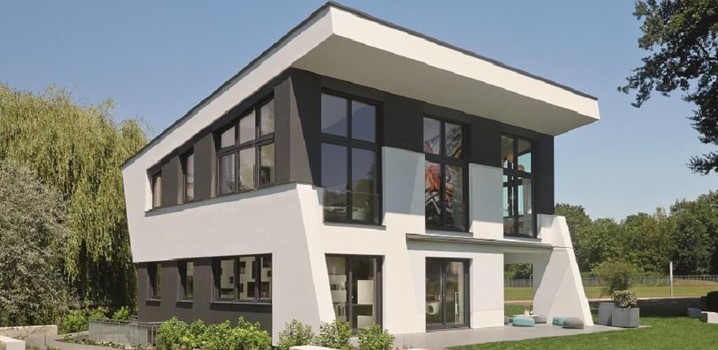 Sculptural architect house design  idea