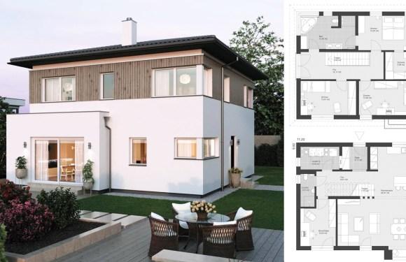 Modern city villa 11.2 x 9.92