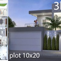 Home Design Plan 10x20 Meters